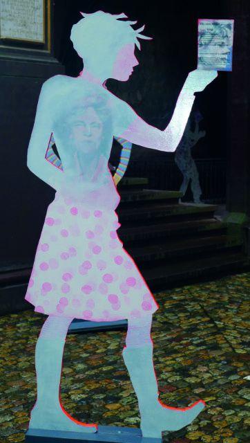 Frauenfigur von Heike Mueller 2