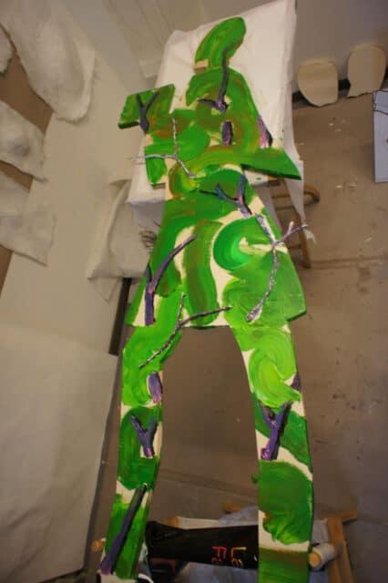 Arbeit an der Frauenfigur von Regina Simon