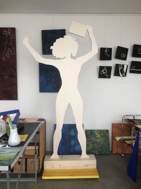 Frauenfigur Calderara Jaime
