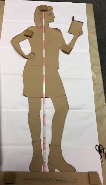 christina klaefiger Figur