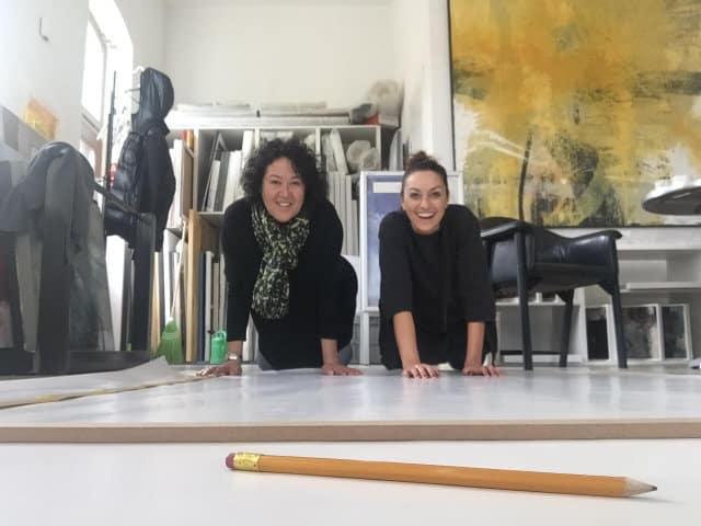 Künstlerinnen im Atelier