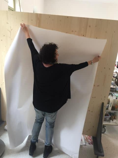 Sonja Schmid im Atelier 2