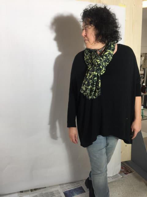 Sonja Schmid im Atelier 3